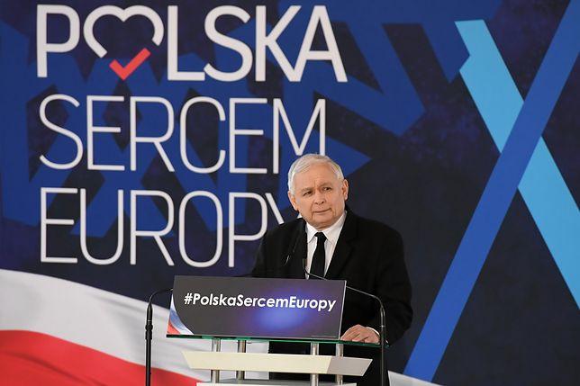 Prezes PiS Jarosław Kaczyński znów cytował Agnieszkę Holland