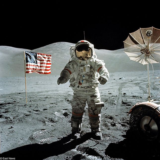 Podczas Apollo 17 zebrano najwięcej próbek z Księżyca