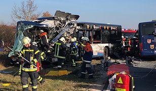Tragiczny wypadek dwóch autokarów w Niemczech