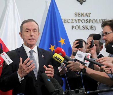 Marszałek Senatu prof. Tomasz Grodzki