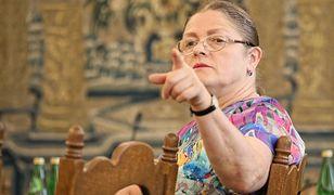 Krystyna Pawłowicz jest znana z ostrego języka w mediach społecznościowych