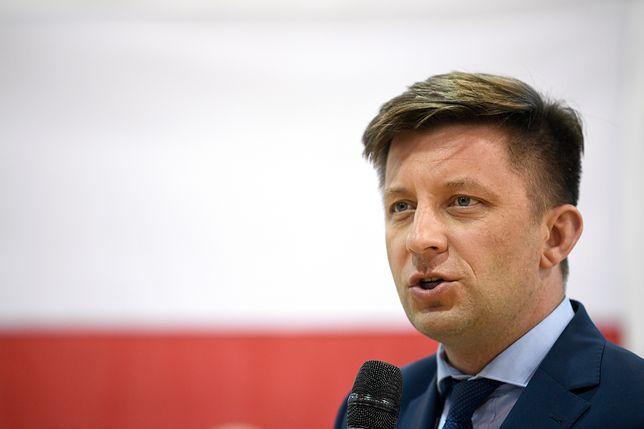 Michał Dworczyk zapewnia, że Kancelaria Premiera nie wykorzystuje żadnych pieniędzy na ubrania dla premiera