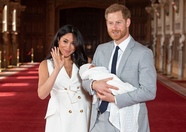 Meghan Markle i książę Harry niedawno zostali rodzicami Archiego