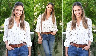 LOOK OF THE DAY: Jessica Alba na imprezie Target