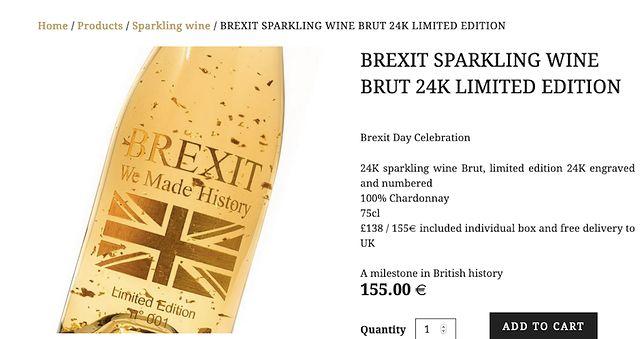 Brexit. Brytyjczycy nawarzyli piwa, a Francuzi sprzedają z tej okazji wino za 800 zł