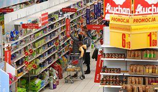 Koszyk zakupowy WP Finanse. Francuska sieć najtańsza, spadek Lidla