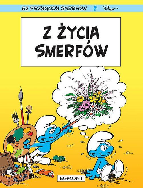 """""""Z życia smerfów"""", Egmont 2019"""