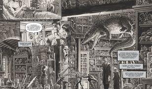 """Rysunki """"Frankenstein żyje, żyje!' Berniego Wrightsona zachwycają niespotykanym detalem"""