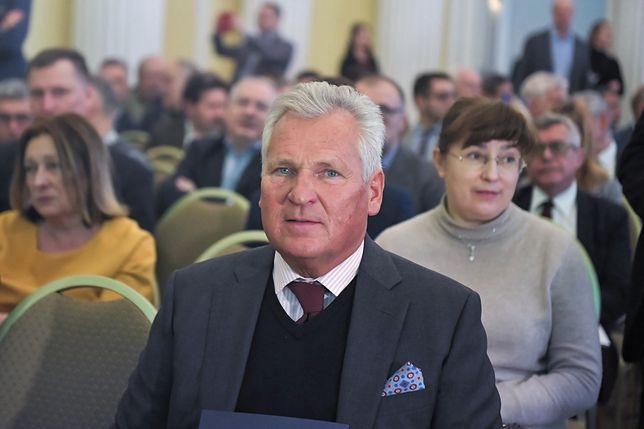 Wybory prezydenckie 2020. Były prezydent Aleksander Kwaśniewski