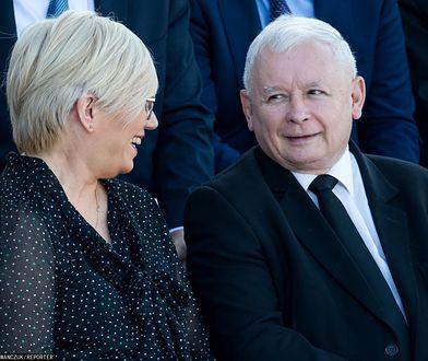 Aborcja w Polsce. Prezes TK Julia Przyłębska i prezes Pis Jarosław Kaczyński