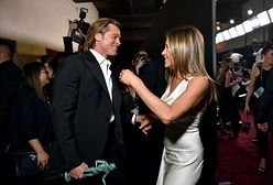 Brad Pitt i Jennifer Aniston nagrodzeni. Świętowali razem za kulisami