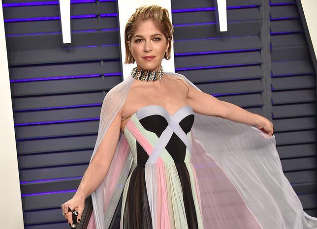 Selma Blair na Oscarach 2019. Aktorka pojawiła się pierwszy raz publicznie od czasu diagnozy