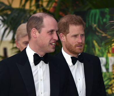 """Harry i William na premierze filmu Netflixa """"Our Planet"""" w Londynie w kwietniu 2019 r."""