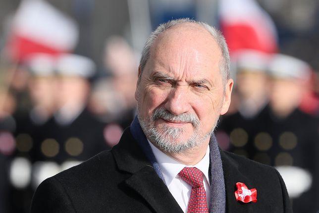 Macierewicz o gen Błasiku: chciano go skazać na infamię
