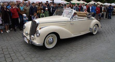 Dawnych wspomnień czar - Mercedesy w Krakowie