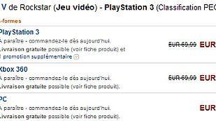 Francuski Amazon ma w ofercie GTA V na PC