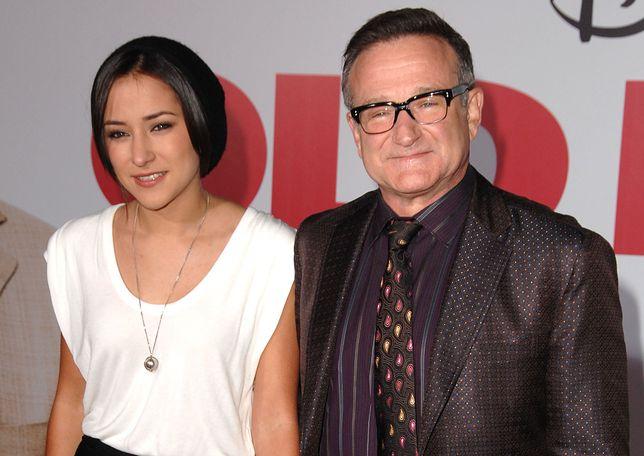 Robin Williams z córką Zeldą w 2009 r.