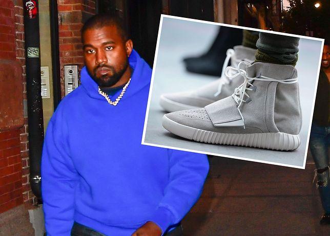 Kanye West i jego legendarne adidasy z 2015 r.
