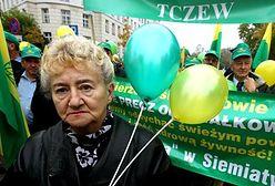 Kilkanaście tysięcy działkowców manifestuje w Warszawie