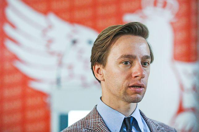 Krzysztof Bosak przyznaje, że w kontekście śmierci Adamowicza, happening narodowców był niefortunny