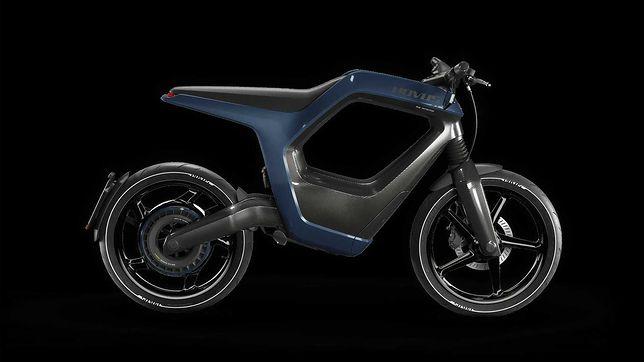 Novus stworzył elektryczny motocykl z włókna węglowego. Cena zwala z nóg