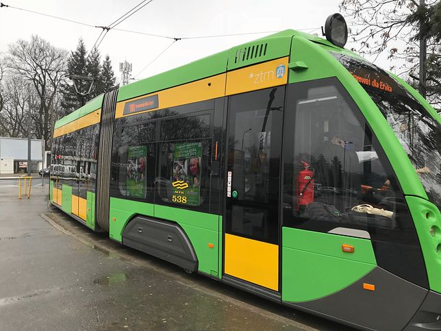 Poznań. Na czas interwencji policji konieczna była zmiana tras sześciu linii tramwajowych