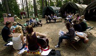 Uczestnicy obozu będą mogli wrócić na kemping po wywiezieniu rozszczelnionej butli