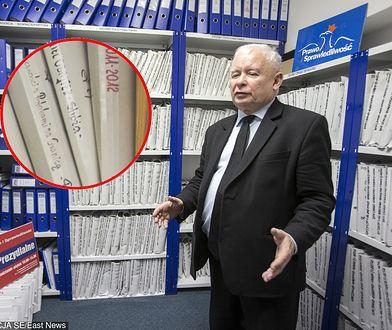 Jarosław Kaczyński ma w swoim archiwum teczkę m.in na prezesa Orlenu Daniela Obajtka