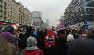Czarny Piątek w Warszawie pokazał, co myślą tysiące Polek