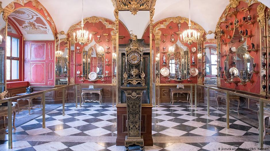 Do spektakularnej kradzieży w muzeum w Dreźnie doszło pod koniec listopada ubiegłego roku (fot. DW)