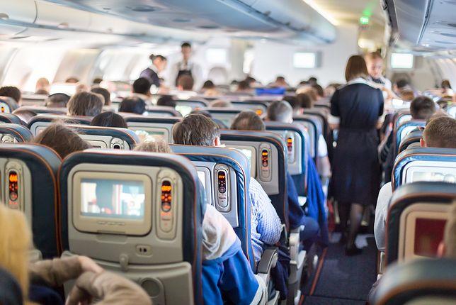 Pijany pasażer to zawsze wyzwanie dla personelu pokładowego