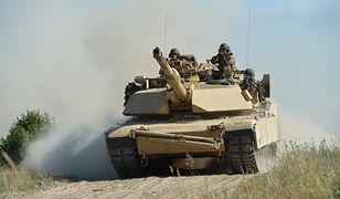 Amerykańscy żołnierze podczas ćwiczeń BALTOPS 2018 na poligonie w Ustce
