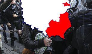 """Wikipedia wyznaczyła strefy, które mają być w Polsce miejscami """"no-go"""" dla LGBT"""