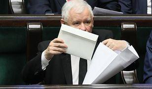 """W Sejmie """"trzynastka"""" przysługuje m.in. Jarosławowi Kaczyńskiemu"""