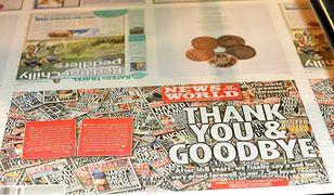 """""""News of the World"""" pożegnał się z czytelnikami"""