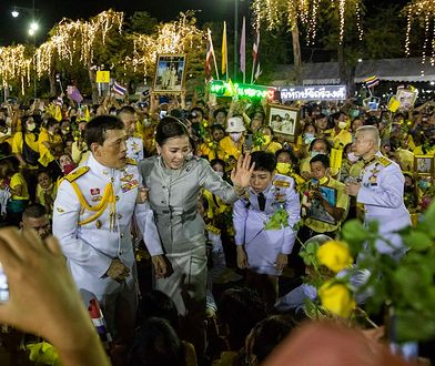 Tajlandia. Król wyznał, że kocha krytykujących go obywateli