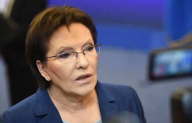 Premier Ewa Kopacz podsumuje pierwsze półrocze rządu