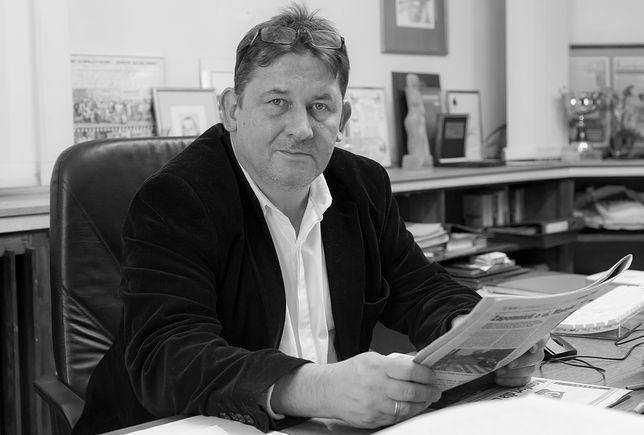 """Nie żyje redaktor naczelny """"Kuriera Szczecińskiego"""". Tomasz Kowalczyk zginął w wypadku samochodowym"""
