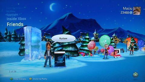 Świąteczny temacik od Microsoftu