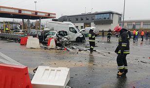 Na autostradzie A2 trwa akcja ratunkowa