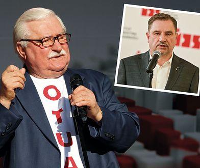 """Rzecznik """"Solidarności"""" reaguje na słowa Lecha Wałęsy dla WP. """"To tchórz"""""""
