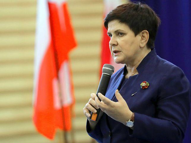 Beata Szydło w rządzie Mateusza Morawieckiego jest wicepremierem ds. społecznych
