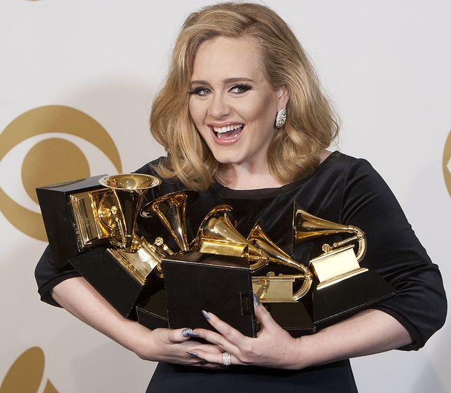 Tak wyglądała w 2012 r . na rozdaniu nagród Grammy