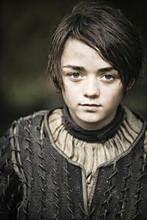 """""""Gra o tron"""": Maisie Williams uwielbia Aryę"""