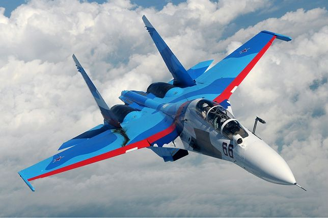 Su-30 - supersamolot Putina. Najlepszy samolot bojowy, jakim dysponuje Rosja