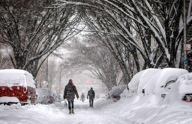 Takiej zimy nie było w USA od kilkudziesięciu lat