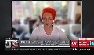 Michał Wiśniewski o proteście artystów. Ma żal do kolegów z branży
