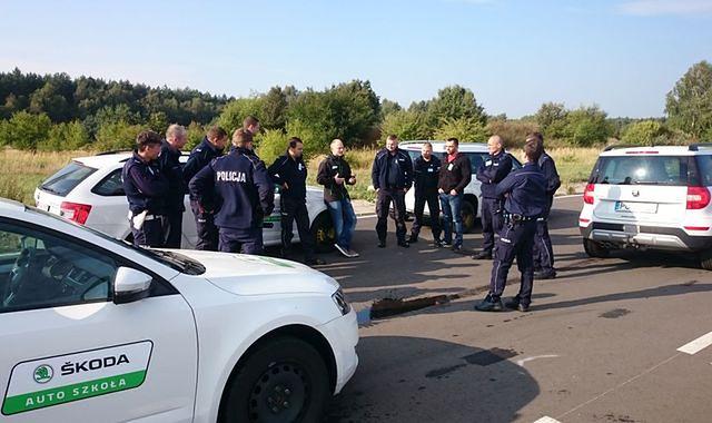 Skoda w służbie policji