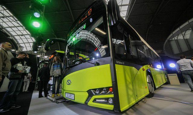 Solaris zaprezentował autobus na wodór