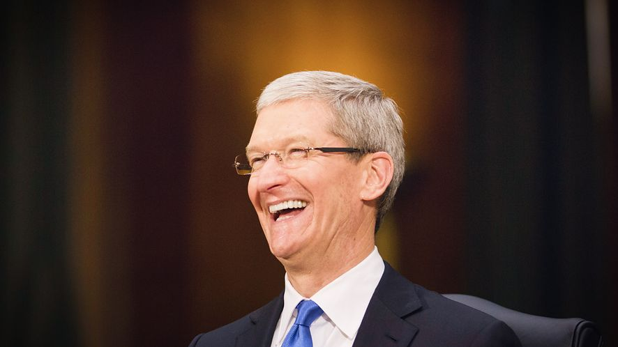 Tim Cook, CEO Apple, fot. Brooks Kraft LLC/Corbis via Getty Images